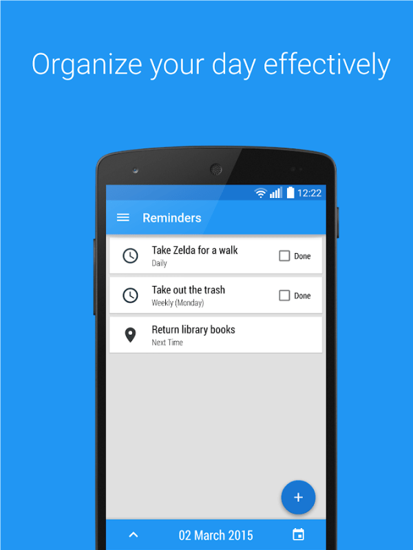 Reminders - Task reminder app - Android Apps on Google Play