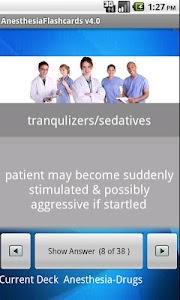 Anesthesia Flashcards screenshot 1