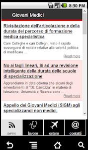 SIGM - Giovani Medici screenshot 0