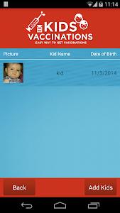 Kids Vaccination screenshot 2