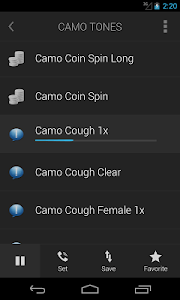 Camo Tones - Secret Ringtones screenshot 1