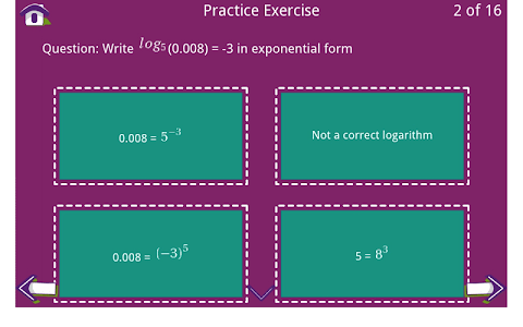 Grade 10 Math Learning Cards screenshot 9