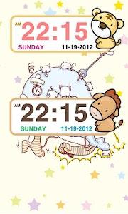 Zodiac sign Clock Widget screenshot 3