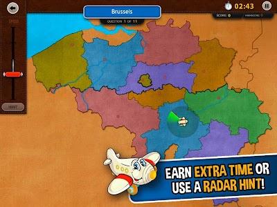 GeoFlight Belgium: Geography screenshot 2