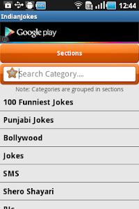 Indian Jokes 2.0 screenshot 1