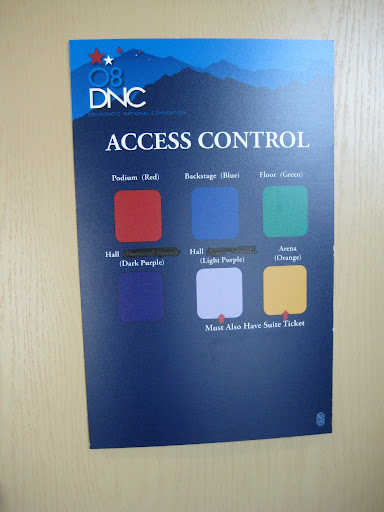 The color-coded hierarchy of passes.