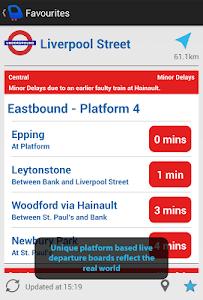 Depart: London Transport Live screenshot 6