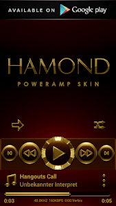 HAMOND Poweramp widget pack screenshot 3