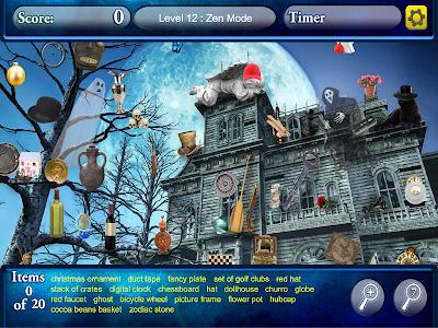 Hidden Objects Haunted Worlds screenshot 8