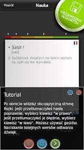 FISZKI Francuski Słownictwo 1 screenshot 2