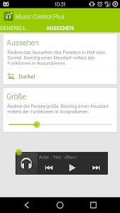 Music Control Plus screenshot 1