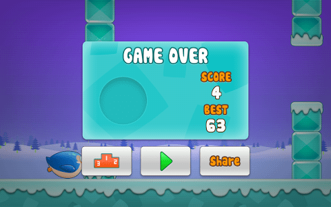 Jumpy Penguin screenshot 3