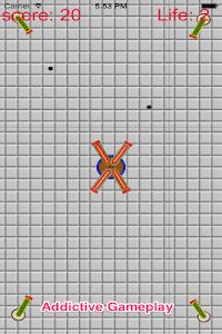 Crash Cannon Ball Shooting War screenshot 2