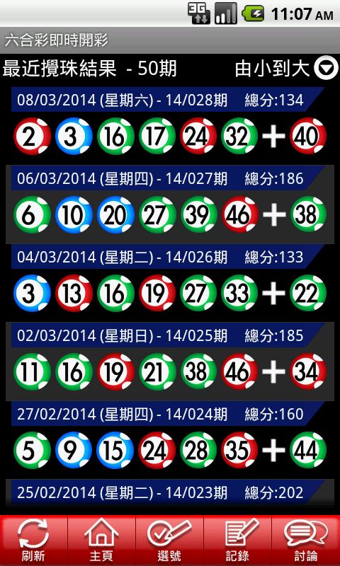 香港六合彩Mark Six - 即時開彩(Live!) - Android Apps on Google Play