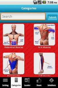 3D Muscle System screenshot 0