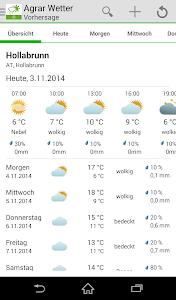 Bayer Agrar Wetter Austria screenshot 0