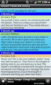 Relationship Analysis screenshot 3