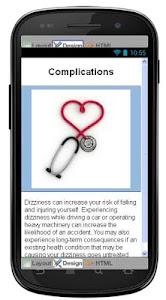 Dizziness Disease & Symptoms screenshot 5