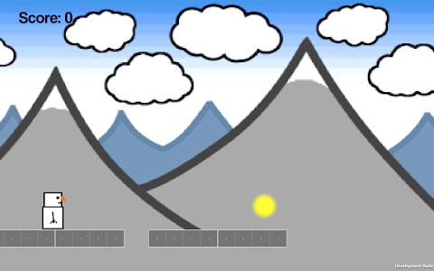Snowman Runner screenshot 6