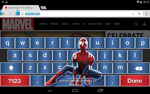 Amazing Spider-Man 2 Keyboard screenshot 5