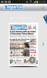 L'Impartial journal screenshot 1