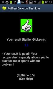 RuffierDickson Cardiotest Lite screenshot 0