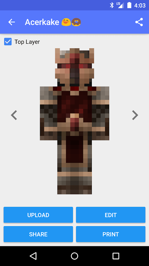 Minecraft Creator Editor Skin And