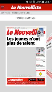 Le Nouvelliste en continu screenshot 5