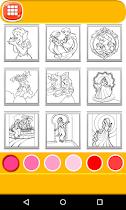 Coloring For Kids - Princess - screenshot thumbnail 02