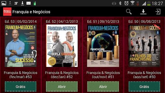 Revista Franquia e Negócios screenshot 1