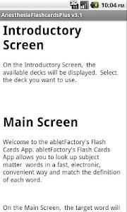 Anesthesia Flashcards Plus screenshot 2