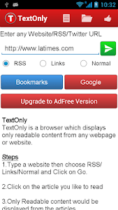 TextOnly Reader Pro screenshot 0