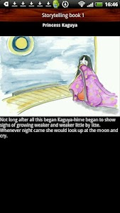 Storytelling book Kaguya-hime screenshot 3