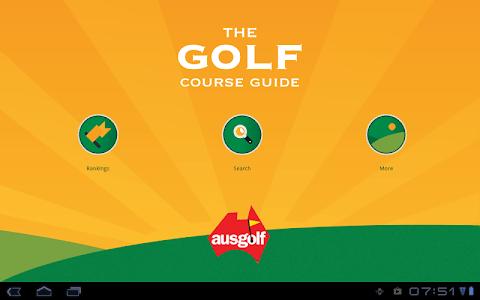 Golf Course Guide Aust Edition screenshot 5