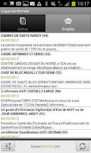 EspaceInfirmier screenshot 1