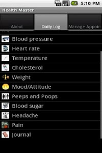 Health Master Free screenshot 0