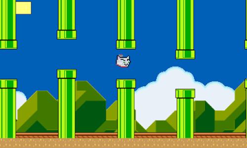 Flappy Troyan screenshot 2