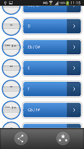 Pro Sax Fingerings screenshot 1