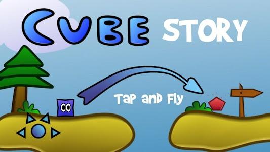 Cube Story (Rovio Style) screenshot 0