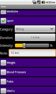 DiaLog: Diabetes Logbook screenshot 3
