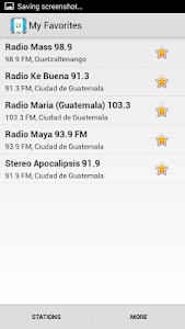 Radio Guatemala screenshot 9