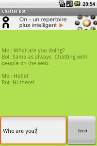 Chatter Bot screenshot 0