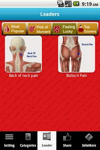 Muscle Trigger Points LITE screenshot 1
