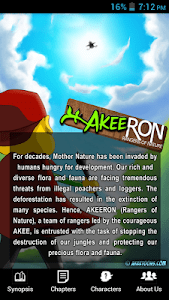 AkeeRON Comic screenshot 1