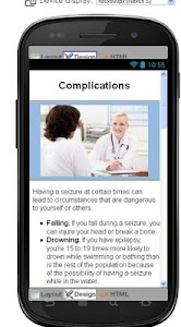 Epilepsy Disease & Symptoms screenshot 5