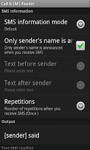 Call & SMS Reader screenshot 7