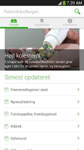 Patienthåndbogen screenshot 0