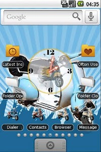 Vespa Classic Full Theme screenshot 0