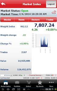 Gulf Bank Mobile Trader screenshot 9