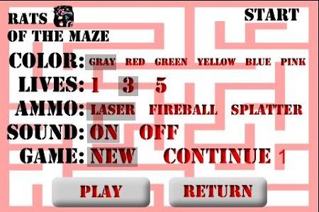 Rats of the Maze screenshot 0